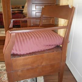 Vanhan tuolin kunnostus