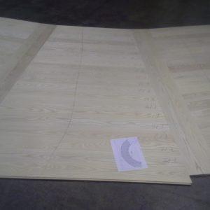 Jokainen lauta on numeroitu ja kasauspiirustus liitetään sekä pakettiin että dokumentointiin.