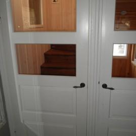 Vanhojen ovien ikkunointi